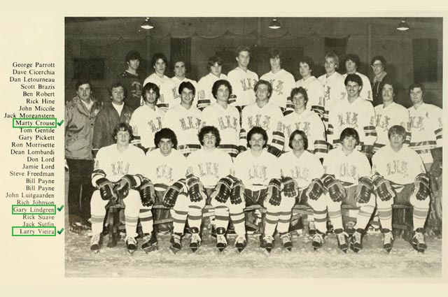 1981 University of New Haven Men's Ice Hockey Team