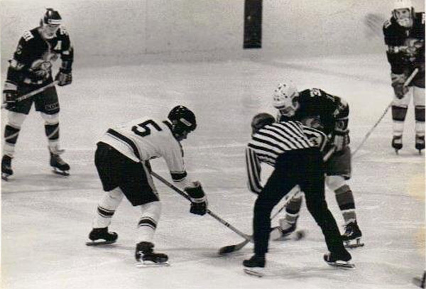 Jari Kurri vs. East Haven High School during 1975-1976 season