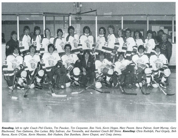 1983 Enfield High School Hockey team, Craig Janney