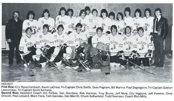 1983 Enrico Fermi High School Hockey