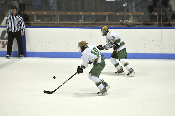 Former Notre Dame-West Haven hockey forward Colby Cretella