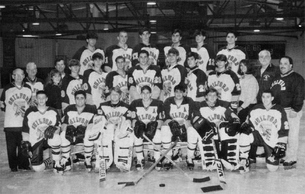 1994 Guilford High School Hockey team coached by Bill Gerosa